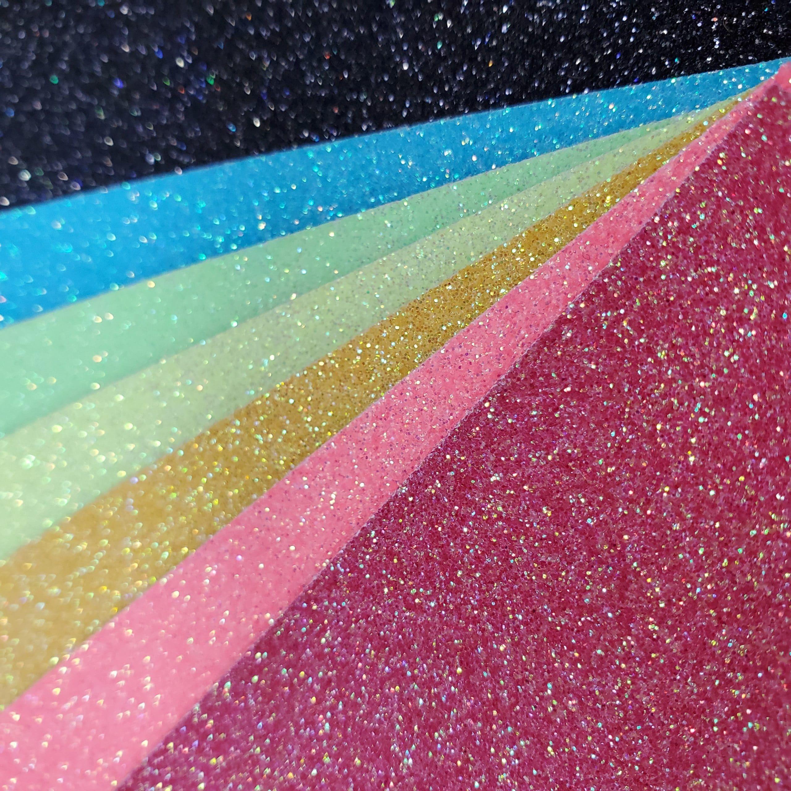 Aqua 10 x 5yd Color Theory Glitter Heat Transfer Vinyl
