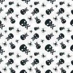 Halloween-bw-skull