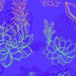 Neon-flower